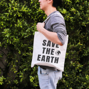 SAVE THE EARTH NATURALNA TORBA BAWEŁNIANA 145g